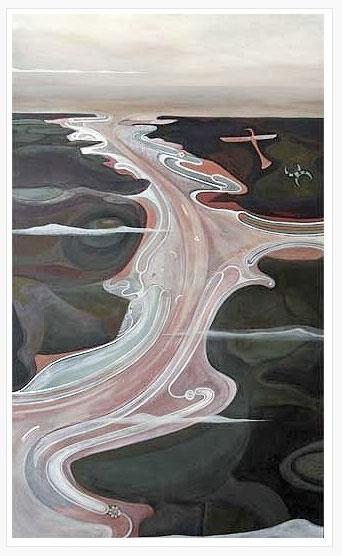 """Hokianga""Acrylic on Canvas1500mm x 900mm$2,500SOLD*"